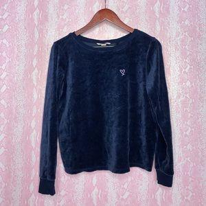 Victoria's Secret velour sweatshirt